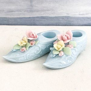 Other - Shoe shape Ceramic candle holders a set of 2